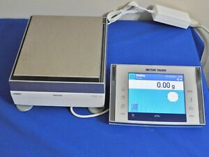 METTLER XP8002S EXCELLENCE PLUS PRECISION TOP LOADING LAB BALANCE 8100.00g