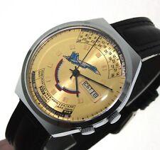 Raketa orologio russo SUKHOI GIALLO russian watch calendario perpetuo
