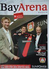 Programm 2011/12 Bayer 04 Leverkusen - Werder Bremen