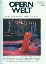 Opernwelt 1989/09 (Münchener Gärtnerplatztheater)