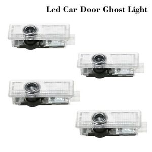 4 Cree LED Door Lamp M LOGO Ghost Shadow Projector Puddle Courtesy Light For BMW