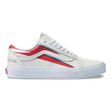 4faf0e1bf1 New VANS X DAVID BOWIE Old Skool Aladin Sane White Sneakers Limited Edition  2019