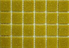 225 Matte Biscuit Cream Vitreous Glass Mosaic 20mm Tiles A32