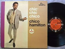 Chico Hamilton Chic Chic Chico LP Impulse Records A-82 Mono 1965 Orig GF G+/VG