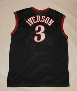 BASKETBALL SHIRT NBA HARDWOOD CLASSICS PHILADELPHIA SIXERS - IVERSON #3 (L)