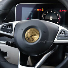 57mm Car Steering Wheel Sticker Emblem Badge Decal Logo For Mercedes Benz AMG
