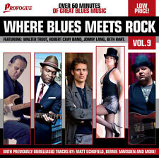 Various Artists : Where Blues Meets Rock - Volume 9 CD (2014) ***NEW***