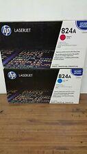 Genuine HP 824A Drums  CB385A Cyan  CB387A Magenta