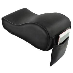 PU Leather Car Armrest Pad Rest Seat Center Console Box Cushion Soft Accessories