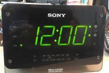 Sony Dream Machine ICF-C414 Clock Radio FM/AM Dual Alarm Auto Time Set