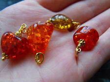 Beauty Amber Oval Costume Necklaces & Pendants