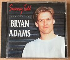 Sweeney Todd featuring Bryan Adams - VGC CD 1992 - FAST UK POST