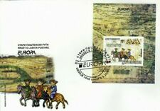 MACEDONIA NORTH 2020 EUROPA - ANCIENT POSTAL ROUTES MS FDC