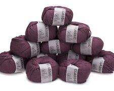 12 x 50g  Dark Purple Rowan Cashsoft Aran