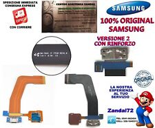 CAVO FLAT CONNETTORE DI RICARICA ORIGINALE SAMSUNG GALAXY TAB S T800 T805 VERS.2