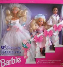 Barbie Dream Wedding Limited Edition Todd and Stacie 1993