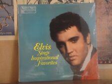 ELVIS PRESLEY, SINGS INSPIRATIONAL FAVORITES - SEALED LP RDA-181/D
