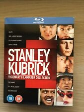 Stanley Kubrick: Visionary Filmmaker Collection (UK Blu-ray 8 Disc Boxset). New