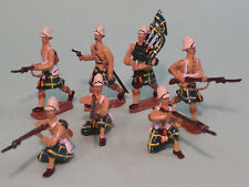 Toy Soldiers-Britain's Victorian Army-Gordon Highlanders-British Infantry-India