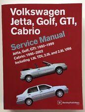 Volkswagen Jetta, Golf, GTI, Cabrio Service Manual: Jetta, Golf, GTI: 1993-1999