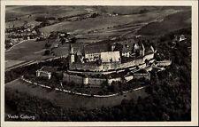 Coburg Bayern AK ~1920/30 Luftbild Fliegeraufnahme Burg Veste Schloss Bauwerk
