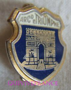 BG7774 - INSIGNE BADGE BLASON ARC DE TRIOMPHE PARIS