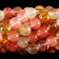 10mm Watermelon Tourmaline Gems Round loose Bead 15""