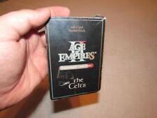 USED Age of Empires 2 the Celts 96 CARDS GOOD SHAPE EXPANDABLE CARD GAME