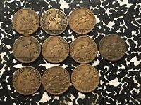 1923 France 50 Centime (10 Available!) Circulated (1 Coin Only)