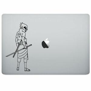 Naruto Sasuke Uchiha Vinyl Decal Sticker for Macbook Air Pro Laptop Car Window