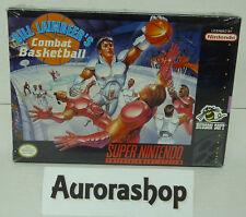 SNES Super Nintendo Bill Laimbeers Combat Basketball / US-Version / neu+ovp