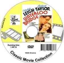 Waterloo Bridge Robert Taylor, Vivien Leigh DVD 1940 Film - 4 for 3 see listing