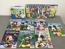 Disney Learning Mickey Mouse Phonics Reading Program & Lot of 7 Me Reader Books