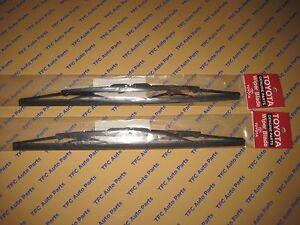 Toyota Tacoma Front Wiper Blade Set of 2 Genuine Toyota U Hook OEM New 1995-2004