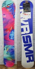 New 2017 Never Summer Onyx Womens Snowboard 146 cm White and Blue Base