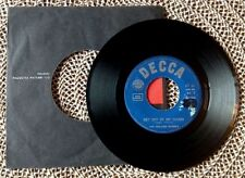 """ROLLING STONES / GET OFF OF MY CLOUD - I'M FREE - 7"""" (printed in Italy 1965)"""