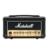 Marshall DSL1HR 1-Watt Tube Guitar Amplifier Amp Head w/ Footswitch & FX Loop
