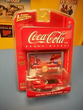 Johnny Lightning Coca Cola Limited Edition '65 Ford Mustang Convertible R1