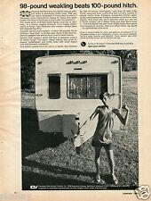 1970 Print Ad of Sprite Caravan Camper