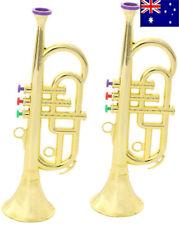 Mini  Horn Trumpet Musical Instrument Toy Educational Kid  Preschool Music Toy