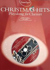 Christmas Hits Playalong (Clarinet) 10 Festive hit songs (Guest Spot series)