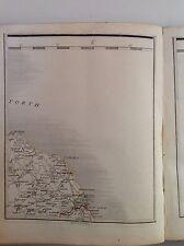 Scotland 1794 Cary's Antique Map Berwick Eyemouth Dunbar Duns Greenlaw
