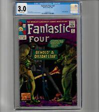 Fantastic Four #37 - CGC 3.0   Marvel - 1965 - Jack Kirby Art