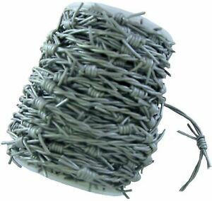 Silver /Grey fake Barbed Wire