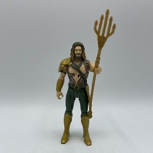 DC Comics Aquaman Movie Action Toy Figure with Trident Justice League