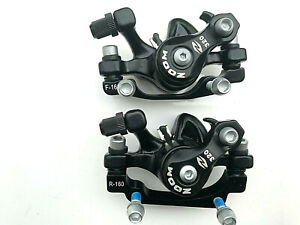 Zoom Brake Disc Calipers Pair BRAND NEW FRONT AND REAR +FIXING BOLTS  UK STOCK
