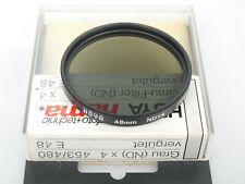 HOYA 48mm NDx4 Neutraldichte-Filter Graufilter ND x4 TOP + Dose mint + case