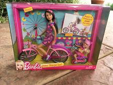 Barbie Dolls Skipper & Chelsea Sisters Bike For Two 2012