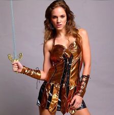 SEXY GLADIATOR WARRIOR Complete COSTUME Hen night Party Dress Woman Outfit