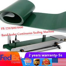 New Fr 7709001000 Band Sealer Continuous Sealing Machine Pvc Conveyer Belt